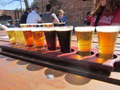 Assaggi di birra a Lobethal