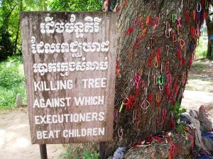 The Killing Tree, Choeung Ek Killing Fields, Cambodia