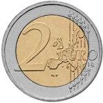 due euro moneta