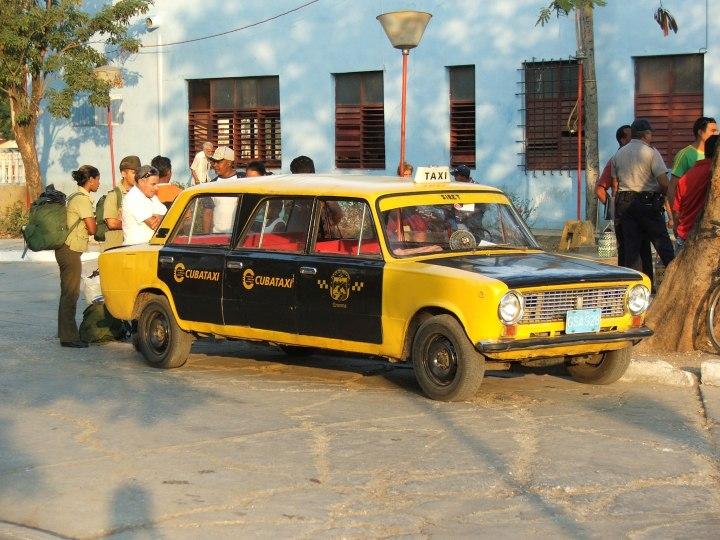 Instants: Quel taxi perl'Avana